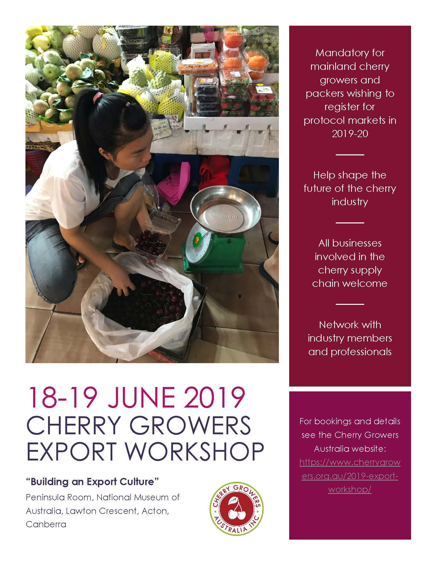 2019 workshop flyer