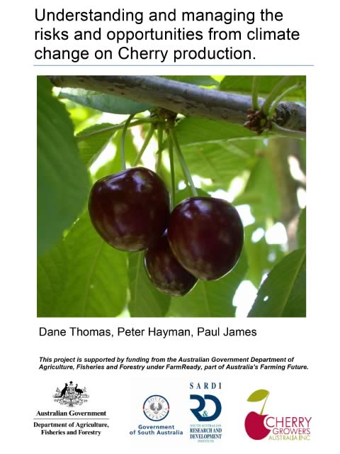 Cover - climate risk management for cherry production